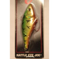 "Matzuo: Rattle Eye Joe Fire Tiger 2 7/8"" Length 1/4 oz."